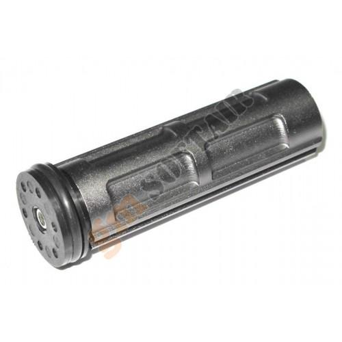 Pistone con Testa in Alluminio Semidentato
