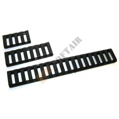 18 Slot Low Pro Rail cover Neri