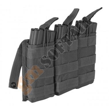 M4/M16 Open Top Mag Pouch Triplo Nero