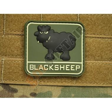 Patch Black Sheep Forest (verde con scritta chiara)
