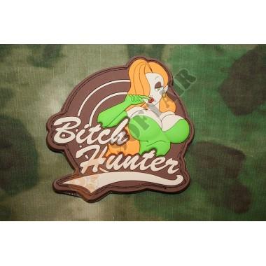 Patch Bitch Hunter Multicam (verde)
