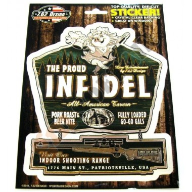 Sticker The Proud Infidel