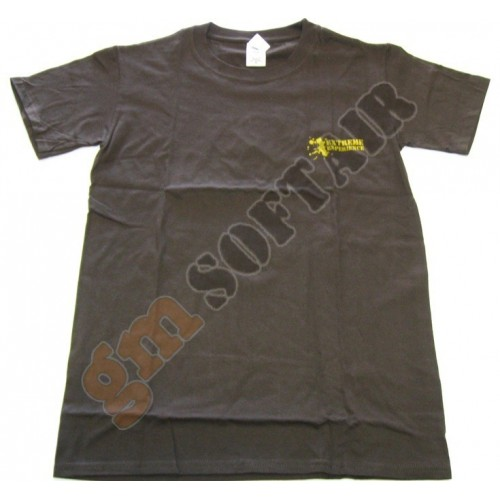 T-Shirt Brown Extreme Experience 3D tg.S