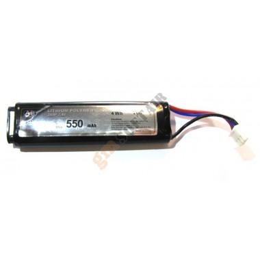Lipo 7.4 x 550 20C per Pistole Elettriche (ACTION BATTERIES)