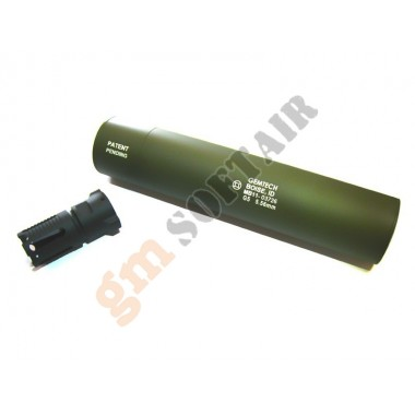 Silenziatore Gemtech G5 Verde