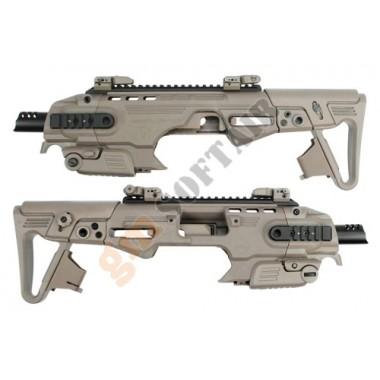 CAA RONI B Pistol-Carbine per M9 TAN