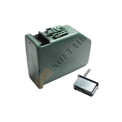 Caricatore Elettrico da 2400 bb per M249