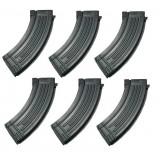 Set da 6 Caricatori Monofilari per AK47 da 150bb