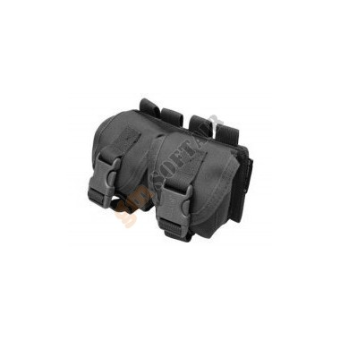 Frag Grenade Double Pouch (BLACK) (E007-B CLASSIC ARMY)
