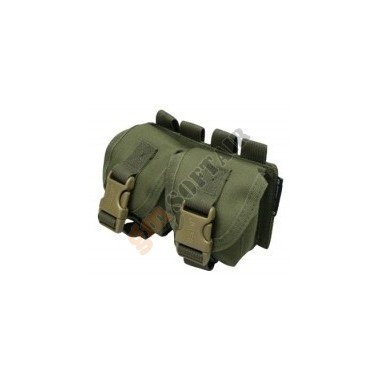 Frag Grenade Double Pouch (OD Green)