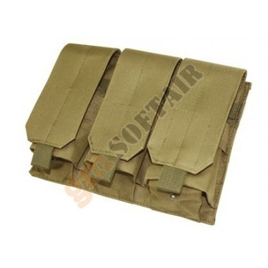 M4/M16 Single Magazine Pouch x3 Kaki