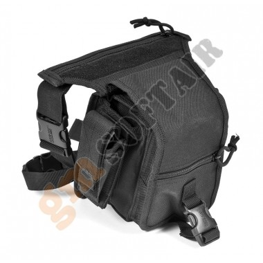 Tactical Thigh Pouch Black