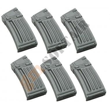 Set da 6 Caricatori Maggiorati per HK33 da 330bb