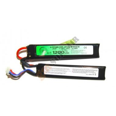 LiPo 7.4 x 1200 25 C Crane