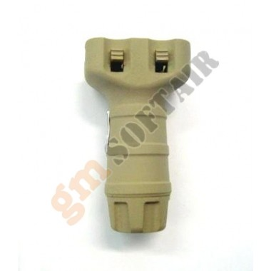 Vertical Grip Tango Down Short TAN