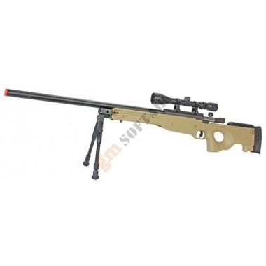 Mauser L96 TAN con Ottica e Bipiede