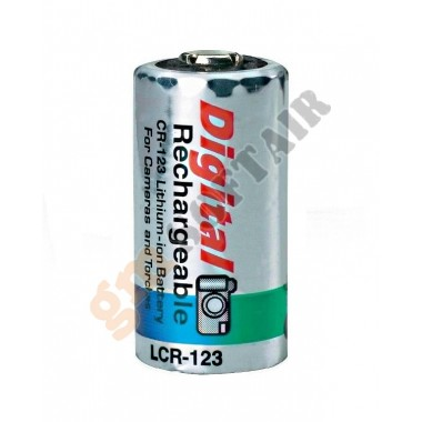 Batteria Ricaricabile LCR-123