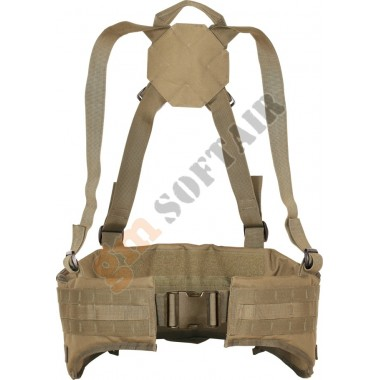 Snipers Padded Belt Coyote TAN (large)