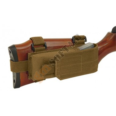 Buttstock Mag Pouch Coyote TAN