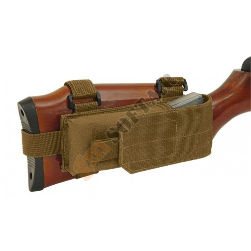 Buttstock Mag Pouch Olive Drab