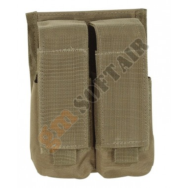 Double M18 Smoke Grenade Pouch Coyote TAN