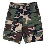 BDU Short Pants Woodland tg. S (FOSTEX)