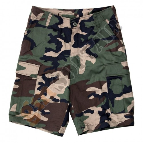 BDU Short Pants Woodland tg. L (FOSTEX)