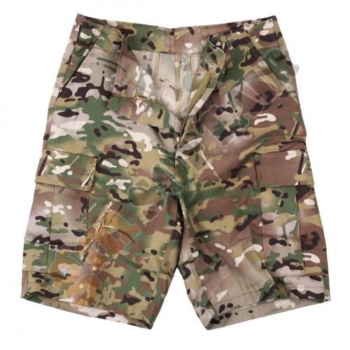 BDU Short Pants Woodland tg.S