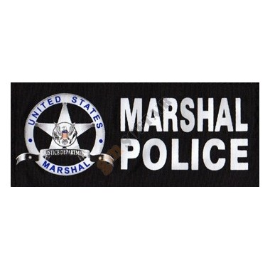 Patch US Marshal Police