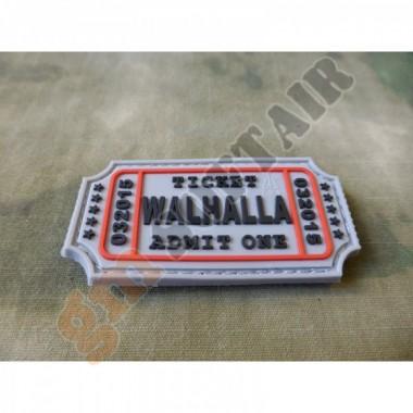 Patch Walhalla Ticket Grigia