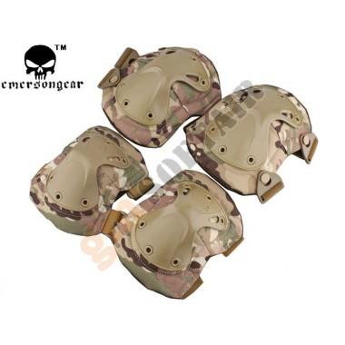 Set Ginocchiere e Gomitiere Multicam