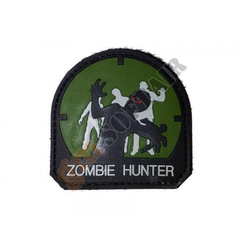 Patch PVC Zombie Hunter mod.3 Verde