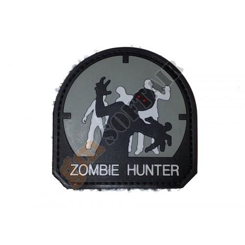 Patch PVC Zombie Hunter mod.4 Grigio Scuro