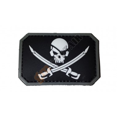 Patch PVC Jolly Roger Nera (EMERSON)