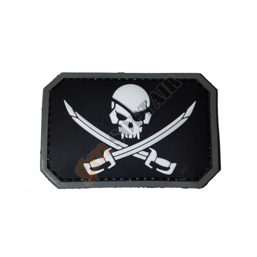 Patch PVC Jolly Roger Nera