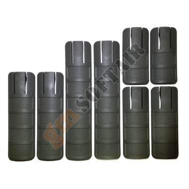 Rail Cover Set Tango Down Verde