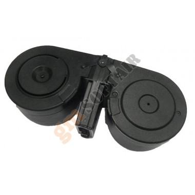 Caricatore Elettrico Doppio Drum per M4/M16