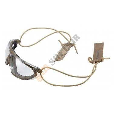 Lacci e Clip per Occhiale Combat Kit Sabbia