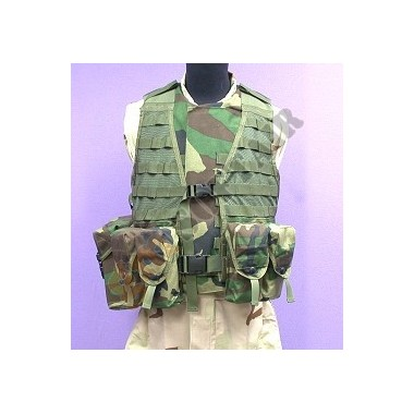 Tactical Vest Modular Operation/Duty 2 WC