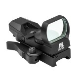 Reflex Optic Nero con Reticolo Blu QR Mount