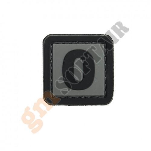 Patch 3D PVC Numero 9