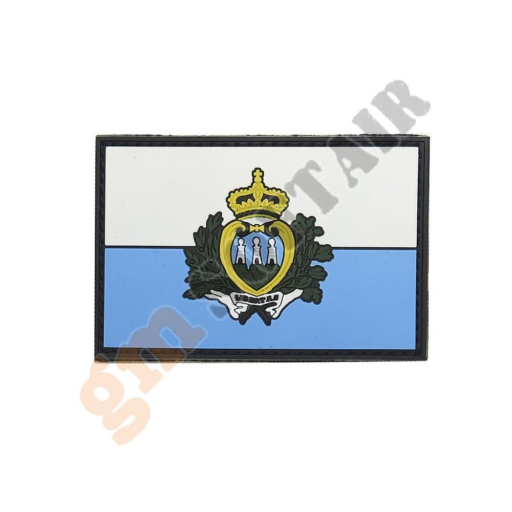 Patch 3D PVC San Marino (101 INC) - Gm SoftAir Srl