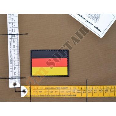 Patch PVC Bandiera Germania a Colori