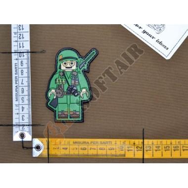 Patch PVC Uomo Soldato Lego Vietnam
