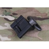 GS Rail Mount Hand Stop Nero