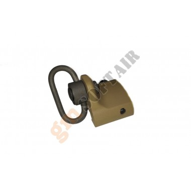 GS Rail Mount Hand Stop TAN