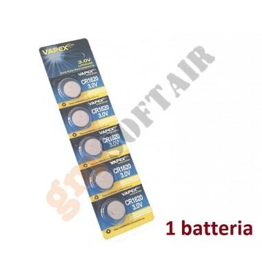 Batteria Singola CR1620 (VAPEX)