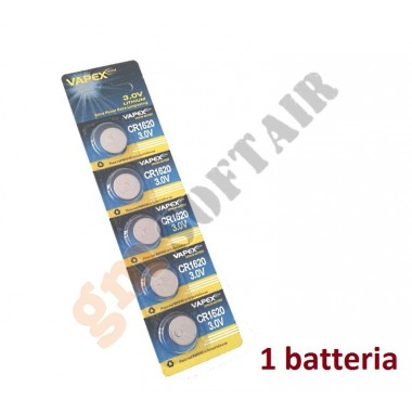 Batteria Singola CR1620