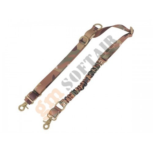 Two Point Single Bungee Sling Multicam