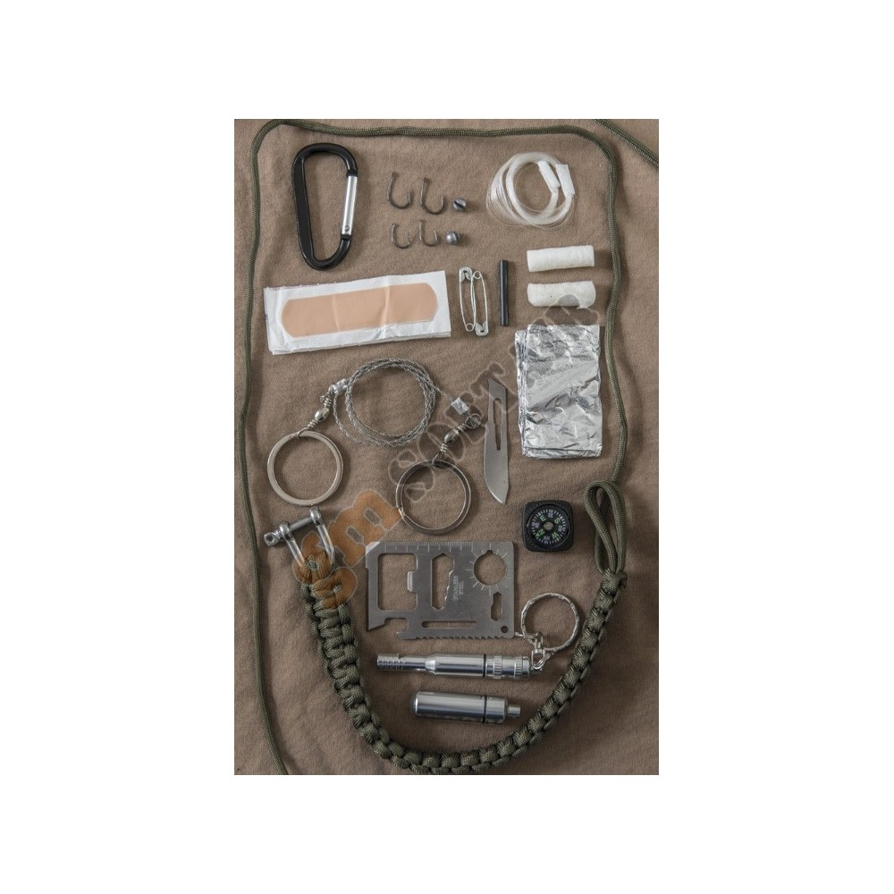 how to make a paracord survival kit